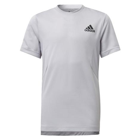 ADIDAS PERFORMANCE Koszulka funkcyjna szary / biały / czarny