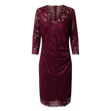 Vera Mont Sukienka bordowy