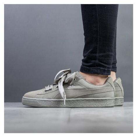 Buty damskie sneakersy Puma Suede Heart Pebble 365210 02