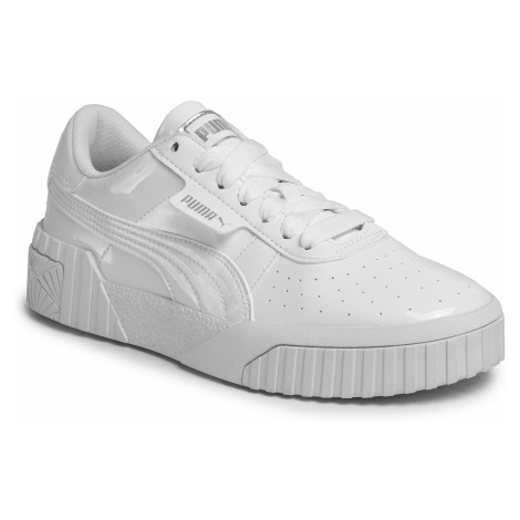 Buty PUMA - Cali Patent Jr 372528 01 Puma White/Puma White