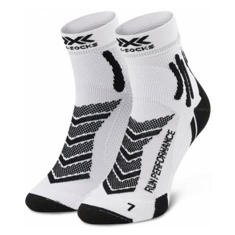 X-Socks Skarpety Wysokie Męskie Run Performance XSRS15S19U Biały