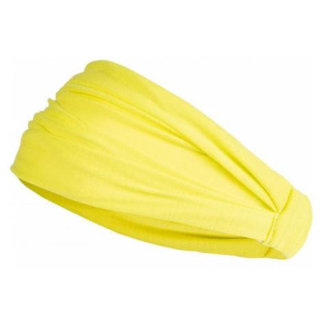 Lewro KESY żółty UNI - Chusta na głowę dziewczęca