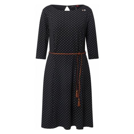 Ragwear Sukienka 'Zenity B' biały / brązowy / czarny