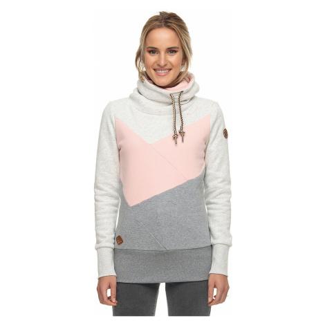 bluza Ragwear Viola Block - 4063/Light Pink