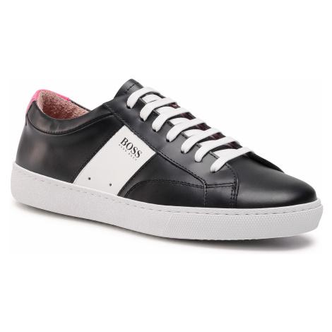 Sneakersy BOSS - Olga Low Cut Mix 50447447 10201909 01 Black 003 Hugo Boss