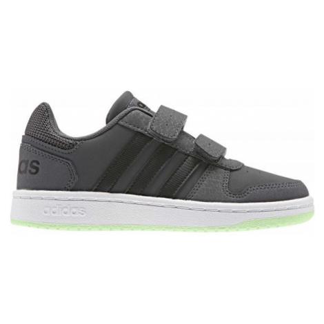 adidas HOOPS 2.0 CMF C szary 31 - Obuwie miejskie dziecięce