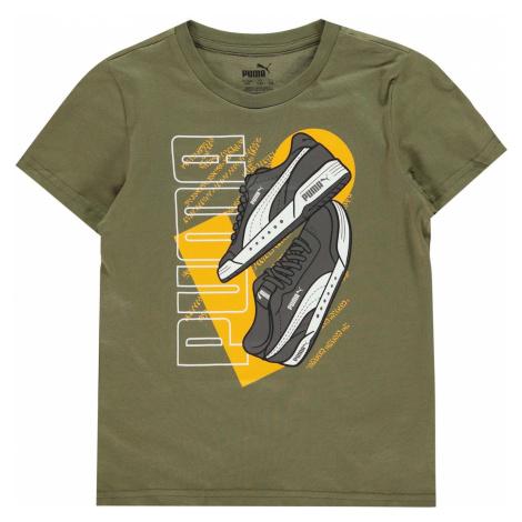 Puma Sneaker QT T Shirt Junior Boys