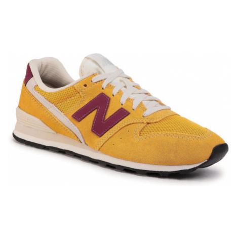 New Balance Sneakersy WL996SVD Żółty