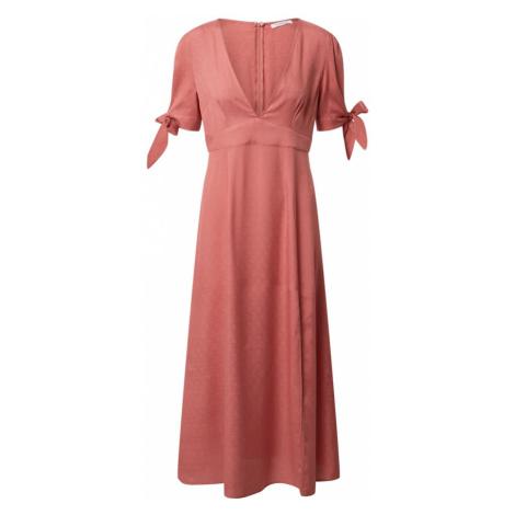 GLAMOROUS Sukienka rdzawoczerwony
