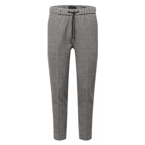 SCOTCH & SODA Spodnie w kant 'Fave' atramentowy / biały