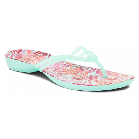Japonki CROCS - Isabella Graphic Flip W 204196 New Mint/Tropical