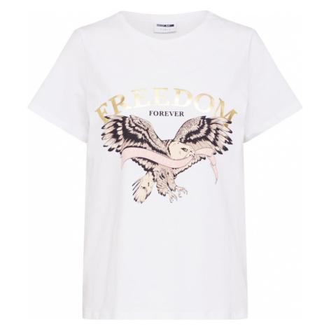 Noisy May Koszulka złoty / biały