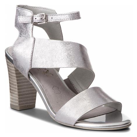 Sandały CAPRICE - 9-28315-30 Silver Metal 920