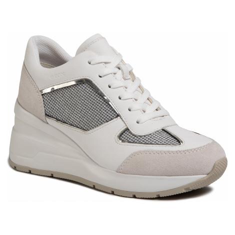 Sneakersy GEOX - D Zosma A D028LA 0AS85 C1303 Lt Grey/White