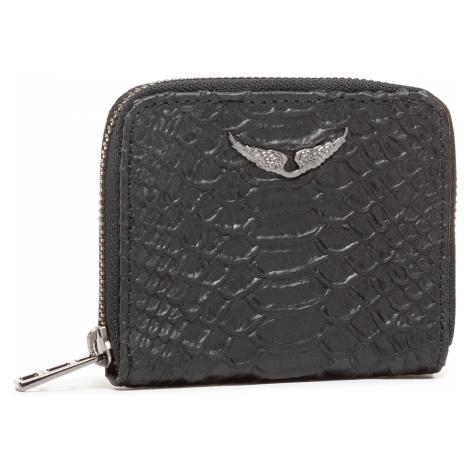 Mały Portfel Damski ZADIG&VOLTAIRE - Mini Zv Savage PWGAP4006F Noir