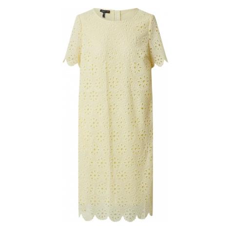 APART Sukienka pastelowo-żółty