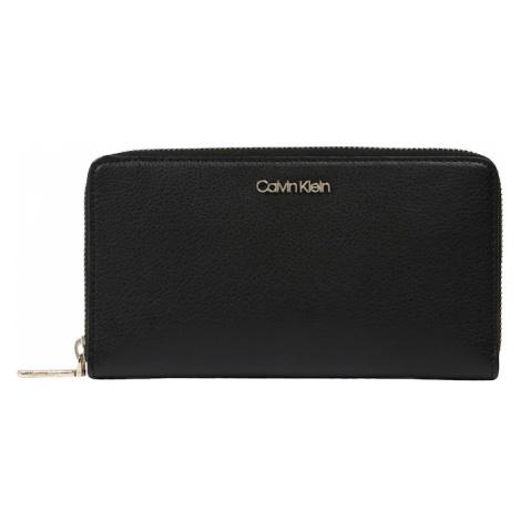 Calvin Klein Portmonetka 'AVANT LARGE ZIPAROUND XL' czarny