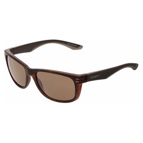 okulary Husky Stuny - Black/Brown
