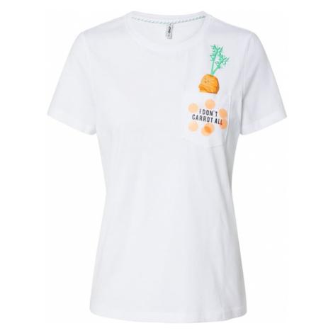 ONLY Koszulka 'ONLFPOLLY' biały