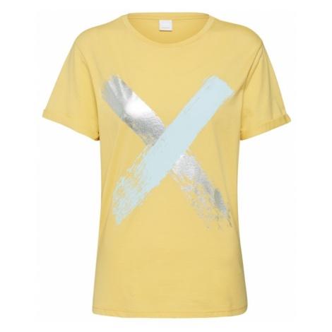 BOSS Koszulka 'Tepaint' żółty Hugo Boss