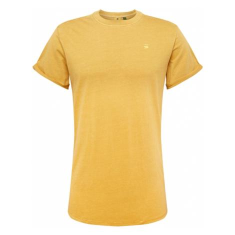 G-Star RAW Koszulka 'Lash' żółty