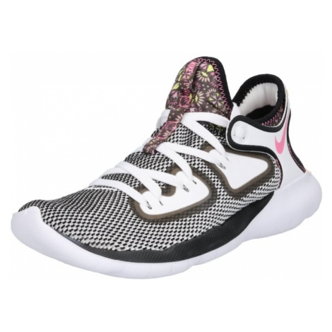 NIKE Buty sportowe 'FLEX' szary / różowy pudrowy / biały