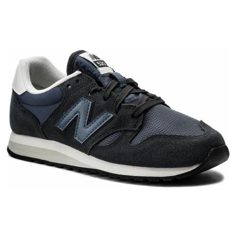 Sneakersy NEW BALANCE - U520CK Granatowy