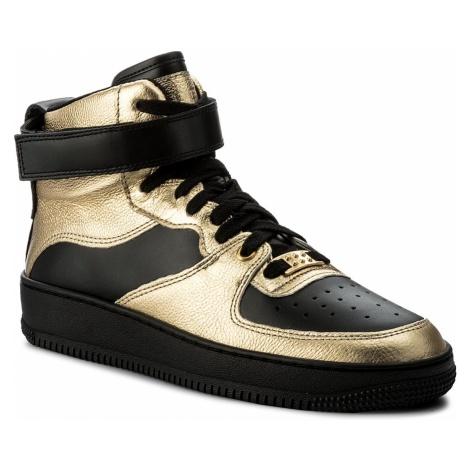 Sneakersy RED VALENTINO - NQ0S0A12 Oro/Nero 0RN