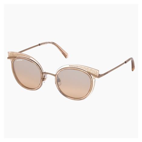 Okulary przeciwsłoneczne Swarovski, SK0169 - 72G, brzoskwiniowe