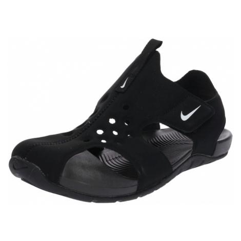 Nike Sportswear Buty otwarte 'Sunray Protect 2' czarny / biały