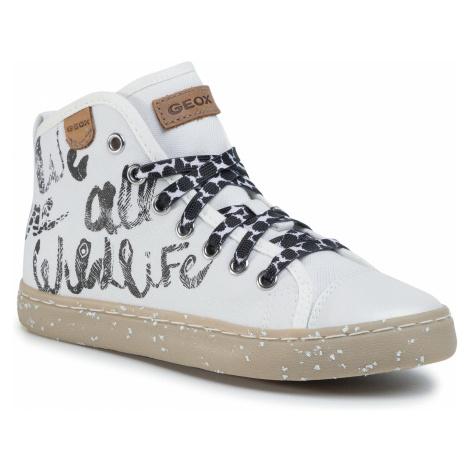 Sneakersy GEOX - J Kilwi G. F J02D5F 000ZB C1000 M White