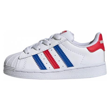 ADIDAS ORIGINALS Trampki niebieski / biały / czerwony