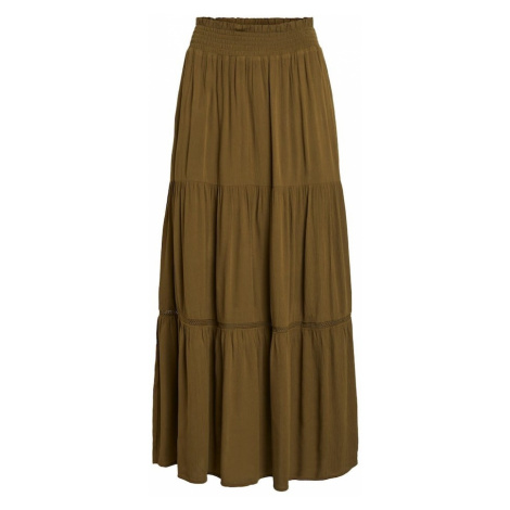 VILA Spódnica oliwkowy