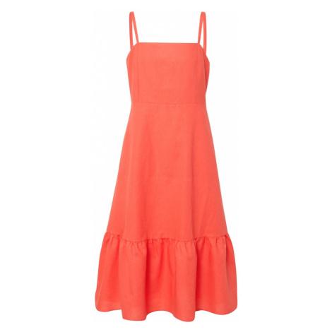GAP Letnia sukienka 'APRON' koralowy