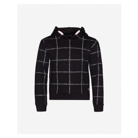 Guess All Over Logo Bluza dziecięca Czarny