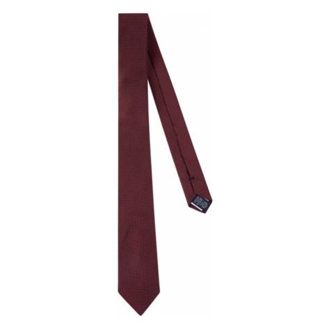 Tommy Hilfiger Tailored Krawat Blend Solid TT0TT06671 Biały