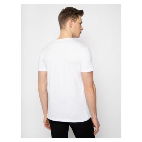 Trussardi Jeans T-Shirt 52T00330 Biały Regular Fit