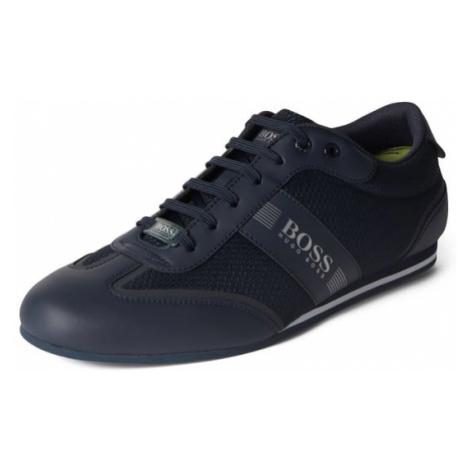 Sneakersy z detalami z logo Hugo Boss
