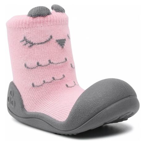 Kapcie ATTIPAS - Cutie A17C Pink