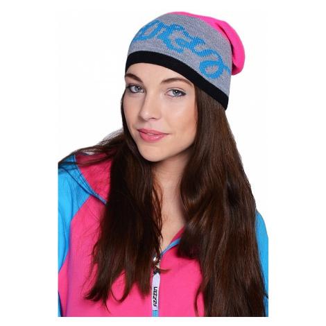 czapka Lazzzy Trio - Pink/Gray