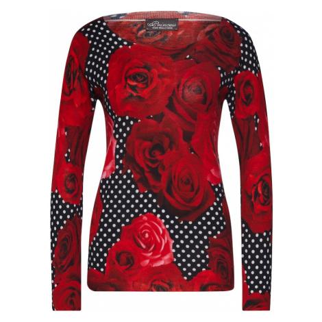 PRINCESS GOES HOLLYWOOD Sweter czarny / czerwony