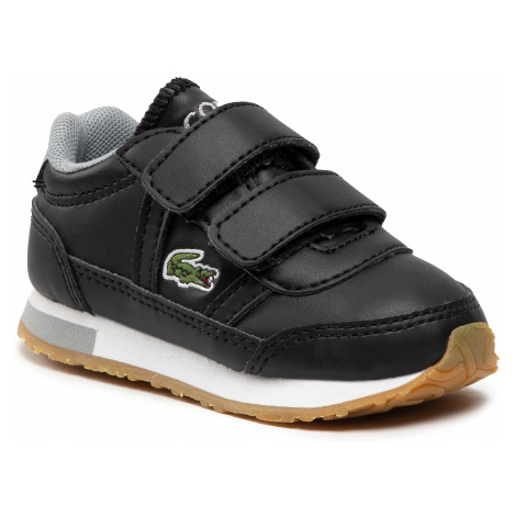 Sneakersy LACOSTE - Partner 0721 1 Sui 7-41SUI0012231 Blk/Gry
