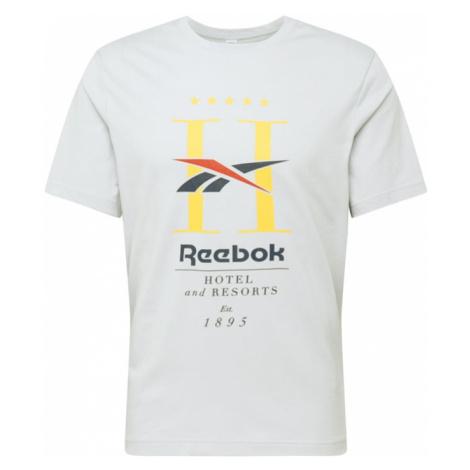 Reebok Classic Koszulka jasnoszary / żółty / pastelowa czerwień / niebieska noc / czarny