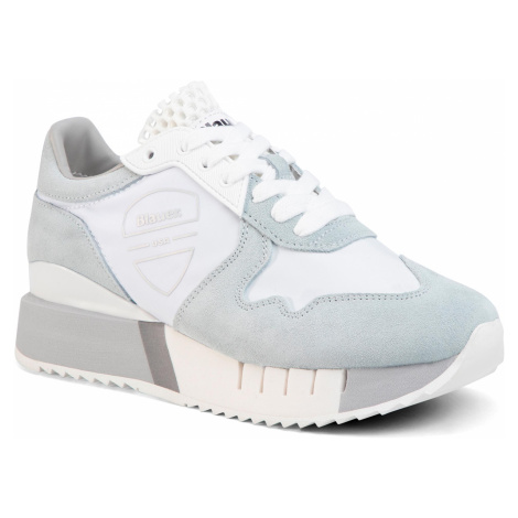 Sneakersy BLAUER - S0MYRTLE02/NYL Ice