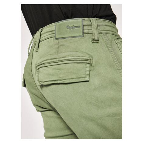Pepe Jeans Joggery Jones PM211355 Zielony Slim Fit