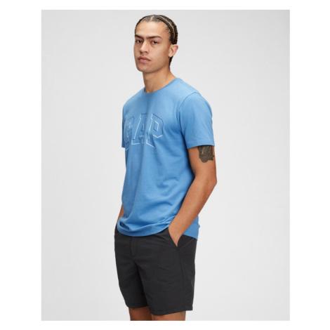 GAP Logo Raised Arch Koszulka Niebieski