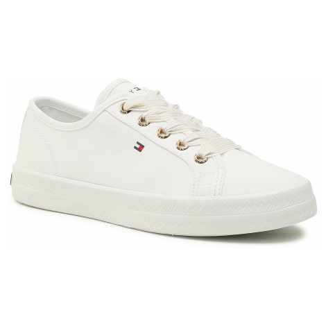 Tenisówki TOMMY HILFIGER - Essential Nautical Sneaker FW0FW04848 White YBS