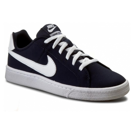 Buty NIKE - Court Royale (GS) 833535 400 Obsidian/White