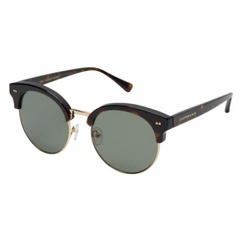 Kapten & Son Okulary przeciwsłoneczne brązowy
