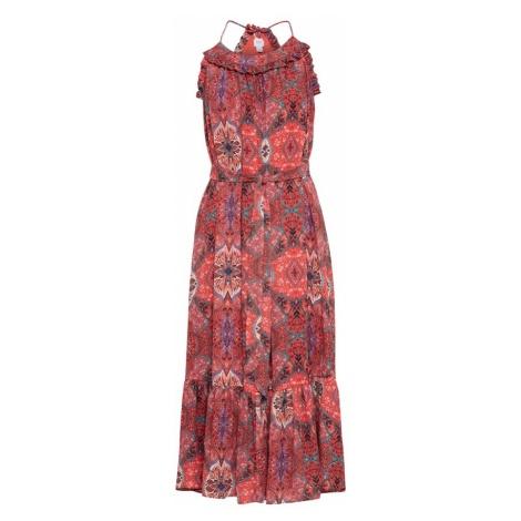 GAP Letnia sukienka niebieski / ciemnozielony / pastelowa czerwień / jasnoczerwony